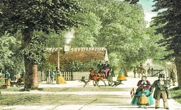 History of Jægersborg Allé