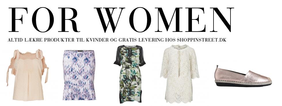 Kvinder modetøj - ShoppinStreet.dk - Jægersborg Alle shopping